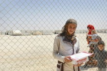 ActionAid på plats i flyktinglägren