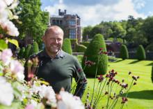 John Taylor ny slottsträdgårdsmästare på Tjolöholm
