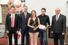 Spende der Mittelbrandenburgischen Sparkasse für die Kinderuniversität der TH Wildau