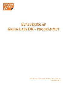 Evaluering af Green Labs DK programmet