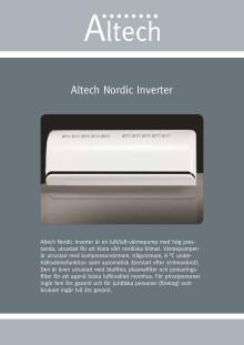Altech Nordic inverter - Produktblad