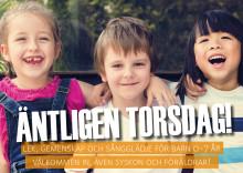 Gemenskap och sångglädje för barn