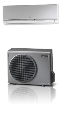 Luftburen värme med unika funktioner