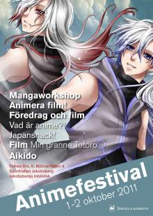 Japan i fokus under animefestival i Järfälla