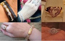 Do you recognise any of this jewellery - stolen in burglary in Fleet