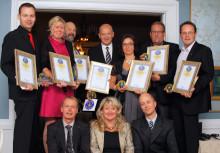 Alla vinnare på årets Sweden Hotels Gala 2010