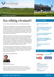 Nyhetsbrev från Vreta Kluster, sommar 2012