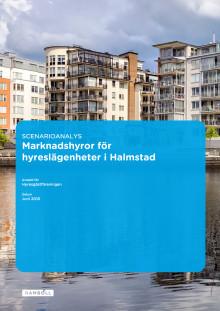 Rapport: Scenarioanalys - marknadshyror för hyreslägenheter i Halmstad