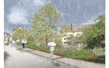 Regnrabatter ska förhindra översvämningar
