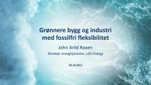 Zerokonferansen 2015: Grønnere bygg og industri med fossilfri fleksibilitet