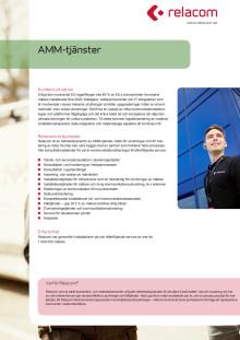 Erbjudandeblad: AMM-tjänster