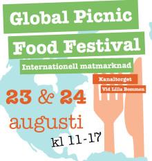 Global Picnic bjuder mat från hela världen i Göteborg