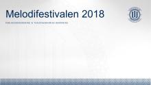 Publikundersökning Melodifestivalen i Kristianstad 2018