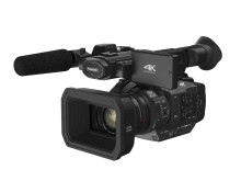 ​Panasonic introduces professional 4K 60p/50p camcorder with extremely wide 24mm 20x optical zoom lens