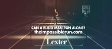 Blind man springer utan ledsagare med hjälp av ljudteknisk lösning från Lexter