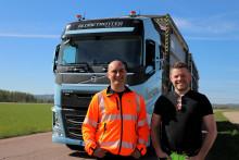 Ragn-Sells först med lastväxlare som drivs på flytande gas