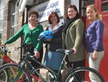 Speyside school staff in fund-raising triathlon
