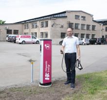 Kullabygden attraherar elbilsturism