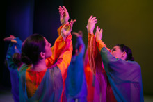 Affirming Life. ​The Goetheanum eurythmy ensemble's premiere of 'Leuchtfäden'
