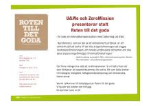 Inbjudan till boksläpp av Roten till det goda i samband med en Bortom Lagom lunch