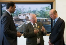 Royal visit to Center Parcs Head Office