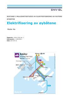 Elektrifisering av øybåtene