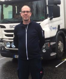 Textilias lastbilar i Rimbo blir 100 % fossilfria