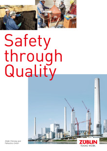 Züblin Chimney and Refractory GmbH - Safety through Quality (brochure)