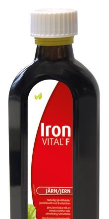 Stärkande droppar för dig som vill ha järnkoll – IronVital