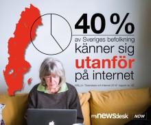 40 procent är inte delaktiga i informationssamhället