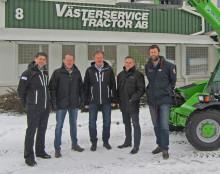 AB Hüllert Maskin har startat samarbete med Västerservice Tractor AB i Göteborg