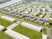 OBOS bygger tio parhus i Norra Åsum