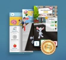 """Vierfache Auszeichnung für 3D Game """"Mannis Räuberjagd"""""""