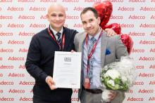Suomen parhaan kesätyön Adecco Finlandin toimitusjohtajana sai Joshua Moorrees