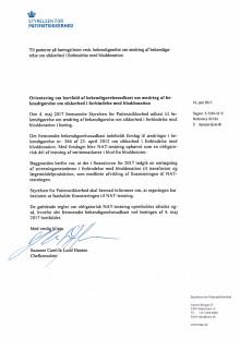 Orientering om bortfald af bekendtgørelsesudkast om ændring af bekendtgørelse om sikkerhed i forbindelse med bloddonation