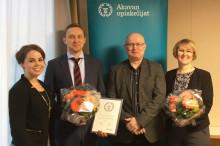 Suomen paras kesätyönantaja -palkinto Eteralle