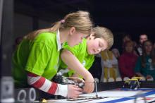 Samtal ska få unga flickor intresserade av teknik