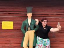 Ta en selfie med 1800-talsturist vid Falu Gruva
