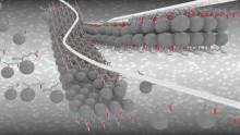 Molekylära nanoremsor gör elektroner supersnabba