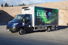Første Iveco Daily Electric frys- og kjølebil til Cater Storkjøkken