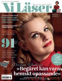 """Vi Läser nr 3 2014: Christine Falkenland: """"Jag ville utforska gränsen mellan lust och olust"""""""