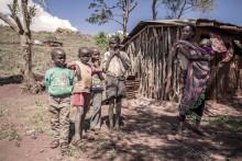 Familier kjemper for overlevelse i Øst-Afrika