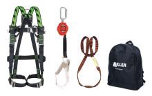 Miller H-design -putoamissuojainsarjat tarjoavat kattavan kokonaisratkaisun korkealla työskentelyyn