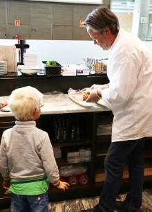 Besøk av Barnas restaurant