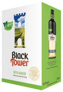 Veganvänliga Black Tower Rivaner i ny design och årgång