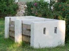 Miljøvennlig kompostbinge