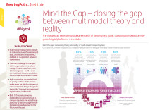Mind the Gap - closing the gap between multimodal theory and reality