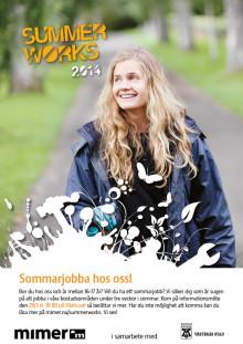 Mimers sommarjobbare håller rent och snyggt på Cityfestivalen i Västerås