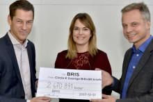 Rekordresultat för Circle K:s Bris-kampanj – 2,7 miljoner kr till Bris