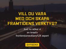 Frontendutvecklare/Kreativ UX Expert